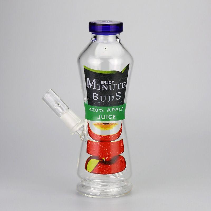 Satın Al Suyu şişesi Bong 8 Inç Spary Boya Can Cam Nargile Keyfini