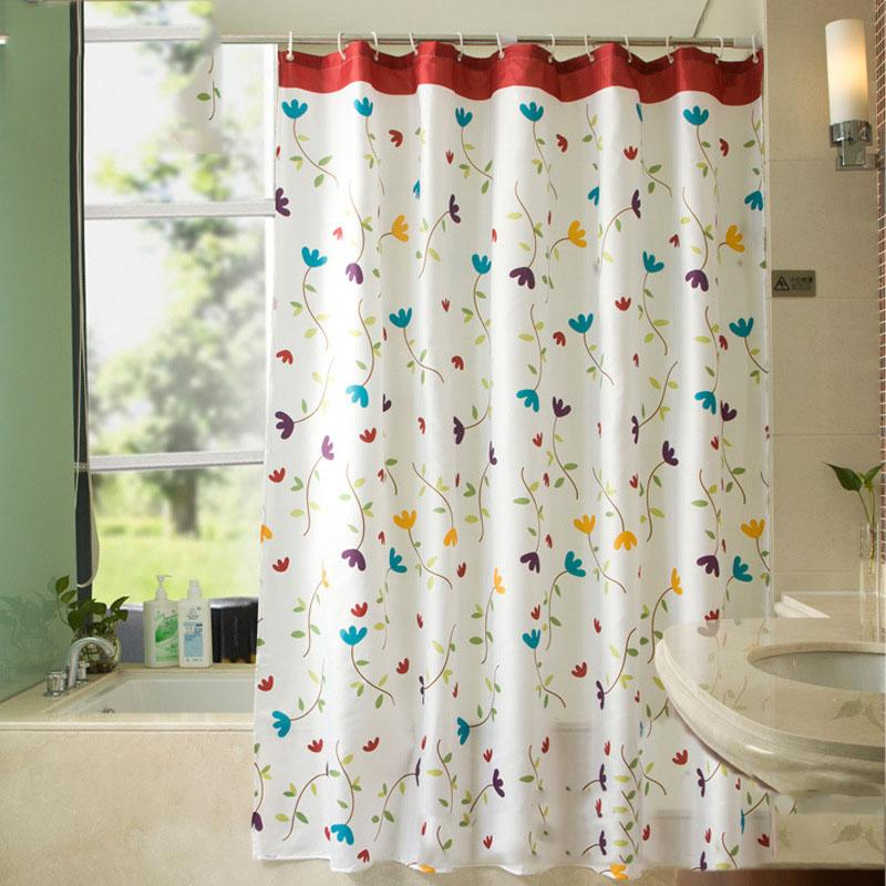 2019 200200cm High Grade Country Style Shower Curtain Waterproof Mildewproof Polyester Fabric For Home Hotel Bathroom Decoration 7Z From Pagoda