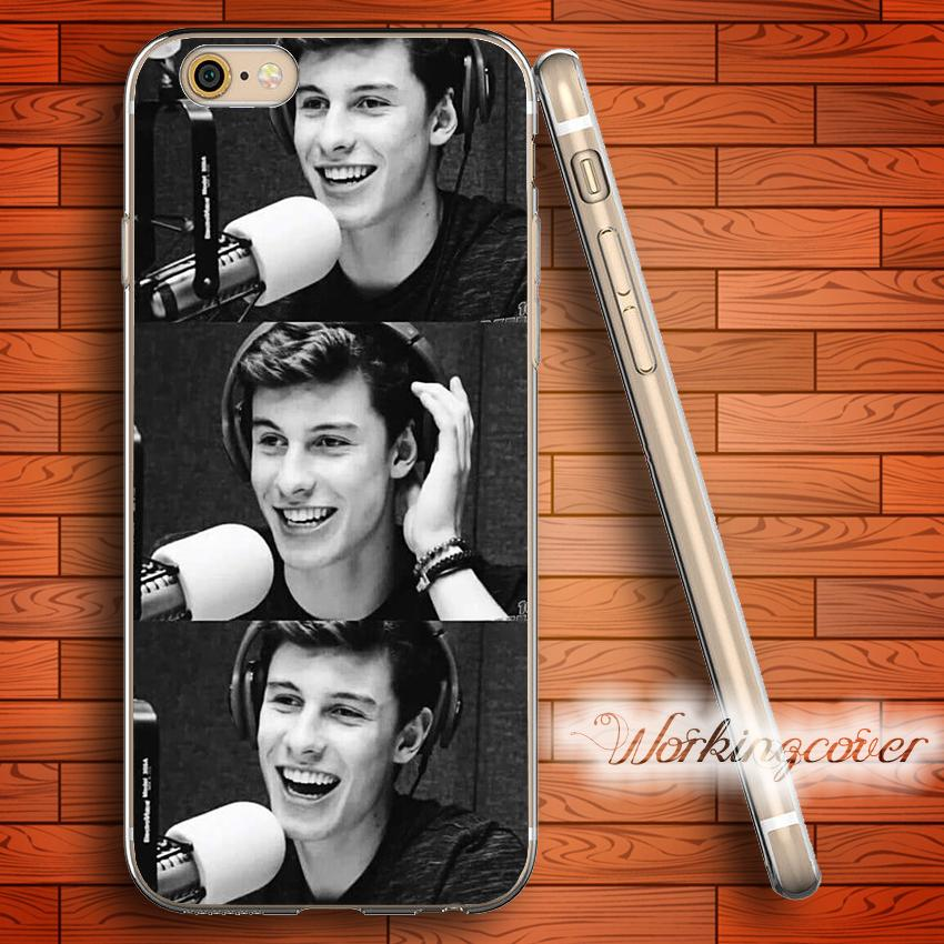 36c916ffe04 Fundas Shawn Mendes Collage Clear TPU Silicone Case For IPhone X 8 6 6S 7  Plus 5S SE 5 5C 4S 4 Case For IPod Touch 6 5 Cover.