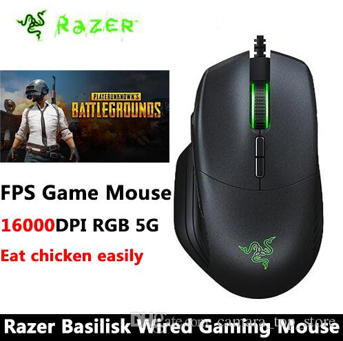 9a65b8ce2f3 2019 Razer Basilisk Wired Gaming Mouse RGB FPS 16000 DPI Customizable  Scroll Wheel Resistance Removable DPI Clutch Mouse Gamer From  Camara_top_store, ...
