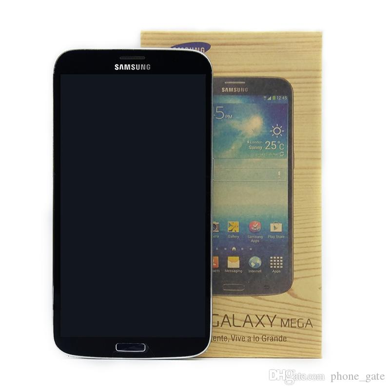 Samsung Galaxy Mega 6.3 I9200 6.3inch المزدوج النواة RAM 1.5 جيجابايت ROM 16GB 8MP WCDMA WIFI Bluetooth غير مقفلة الهاتف المحمول مجدد