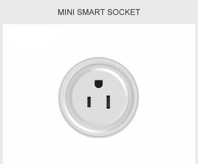 Wifi akıllı fiş Wifi akıllı soket mini akıllı çıkış uzaktan kontrollü çalışma Echo Alexa Google Ev zamanlama fonksiyonu ile