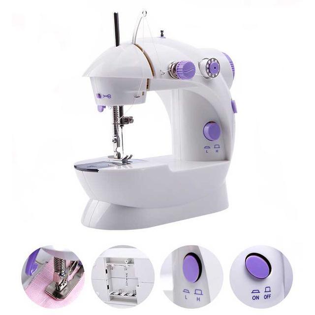 Electric Sewing Machine Mini Automatic Tread Rewind Sewing Machine Unique Electric Sewing Machines