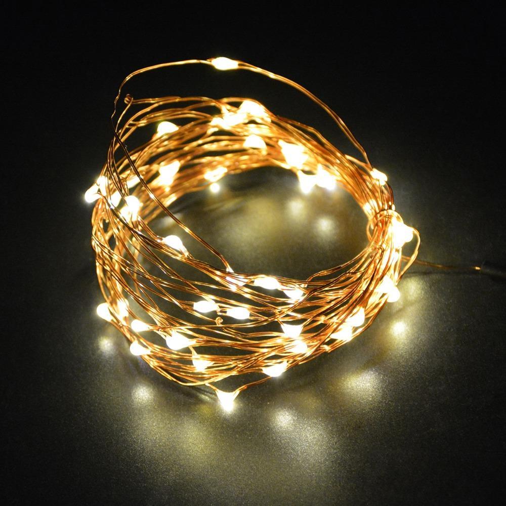 Großhandel 5m 50 Led Kupferdraht String Light Für Glas Handwerk ...