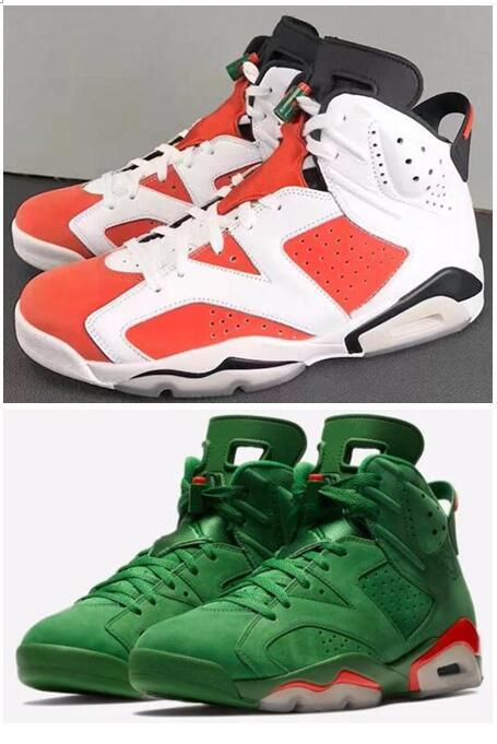 High Quality 6 6s Gatorade Orange Basketball Shoes Men 6s Gatorade Green  Suede Sneakers New With Shoes Box Sport Shoes Mens Sneakers From Men shoes 7b52b21d4
