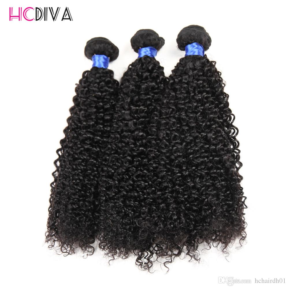 Brazilian Mink Virgin Human Hair Grade 8A Kinky Curly 3 Bundles Natural Color Human Virgin Hair Weaves Extensions Wholesale Cheap Price