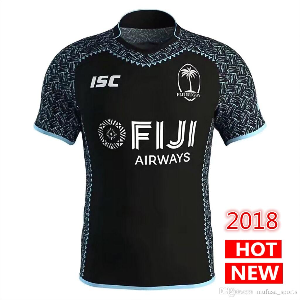 ca3ae7859ad 2018 2019 New FIJI Home Away Rugby Jerseys National Rugby League ...