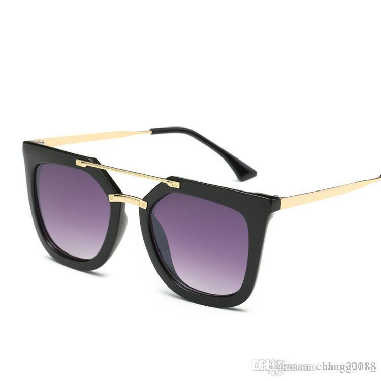 917b1a32dd58b Compre Óculos De Sol Das Mulheres Homem Óculos Moda Quadrado Moda Óculos  Ópticos Quadro Designer De Marca Oculos De Grau 98002 De Chang2018 , ...