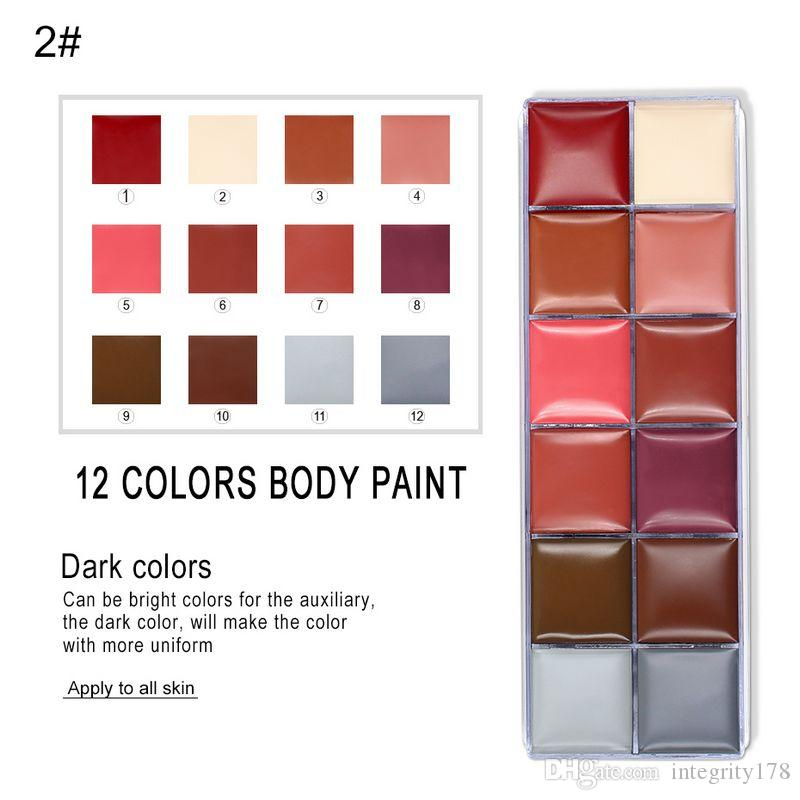 IMAGIC Flash Tattoo Face Body Paint Oil Painting Art use in Halloween Party Fancy Dress Beauty Makeup Tool
