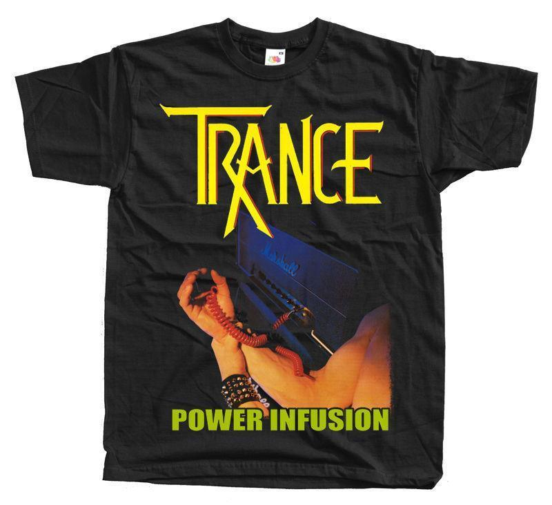 NEW Vintage Classic Trance Power Infusion T-SHIRT summer Hot Sale New Tee  Print Men T-Shirt Top