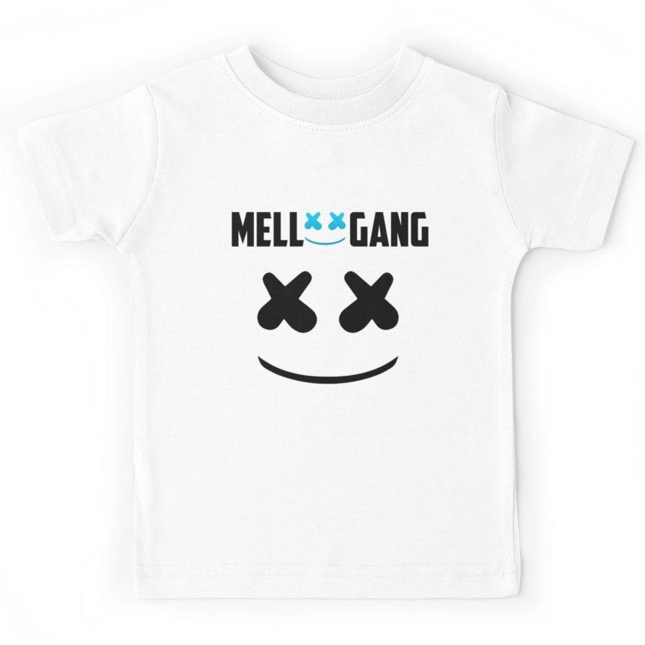 Camiseta Marshmello Juventud Compre Nuevo Camisetas Mello Gang 3A4LRj5
