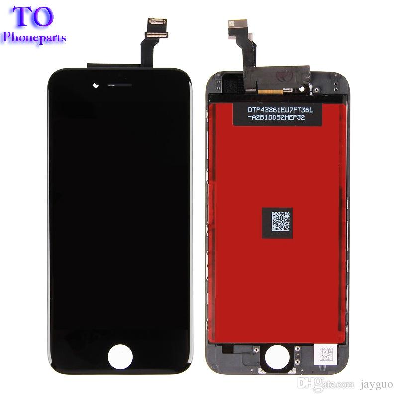 For iPhone 6 LCD Assembly Screen No Dead Pixel For iPhone 6 LCD Display with Touch Screen Digitizer Black White