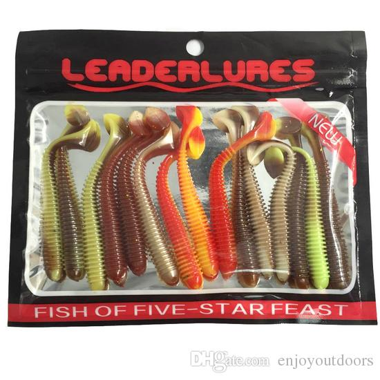 7.5cm Worm Silicone Lures Fishing Lure /bag 2g Soft Baits Artificial Bait Pesca Tackle Carp Fishing Accessories