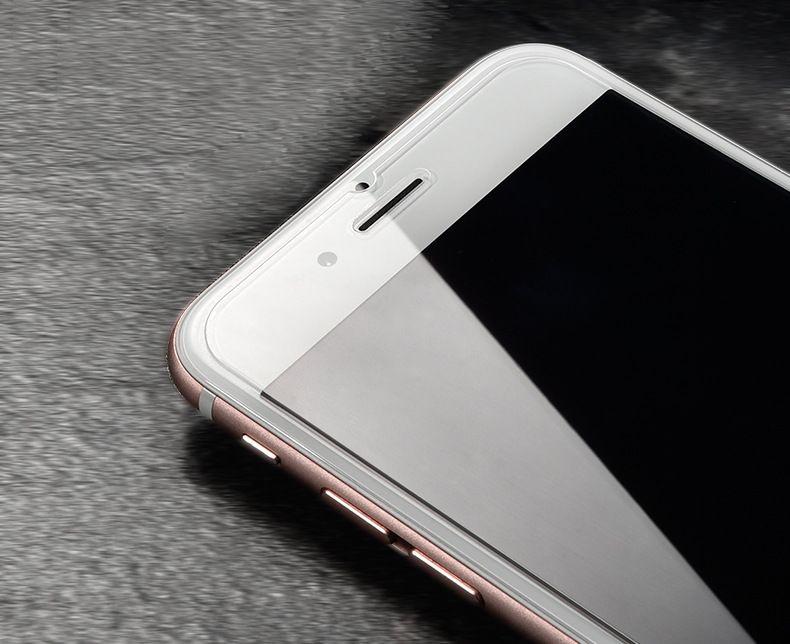 IPhone X 8 7 6 6 S Artı 5 S Temperli Cam Ekran Koruyucu 9 H 2.5D Anti-paramparça Filmi ile 10 in 1 kağıt paketi