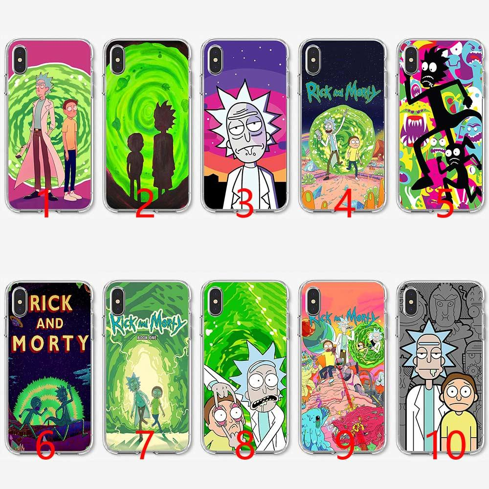 coque rick et morty iphone xs max