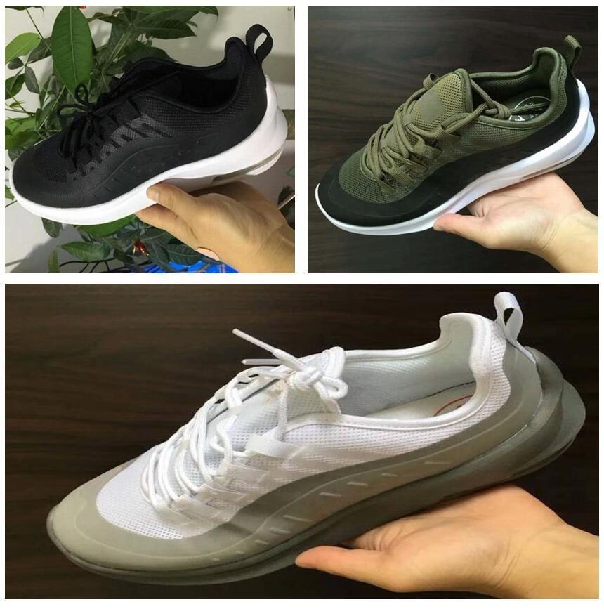 681fc98e5daa1 2018 Mens Shoes MAXes AXIS Casual Shoes Black Red White MAXes AXIS ...