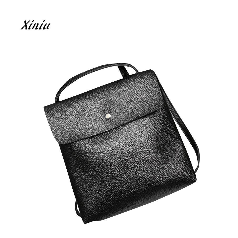 c923821ea7898a Fashion Women Leather Backpack Rucksack Travel School Bag Shoulder Bags  Satchel Girls Feminina School Bags For Teenagers Dog Backpack Backpacks For  Women ...