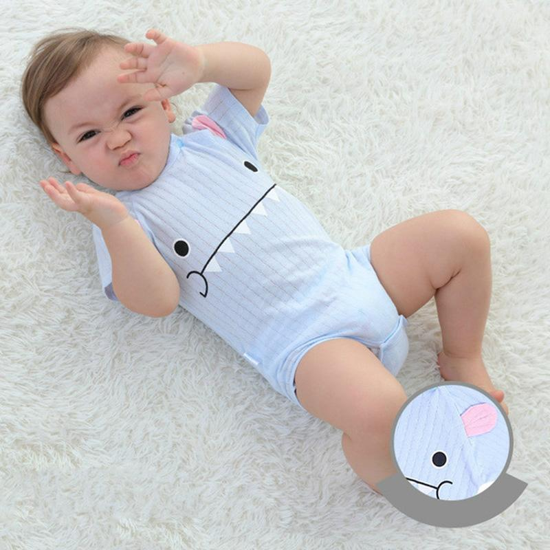 New Summer Baby Boys Romper Animal Style Short Sleeve Infant Rompers Jumpsuit Cotton Baby Rompers Newborn Clothes Kids Clothing Mother & Kids Boys' Baby Clothing