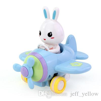 baby toy Bunny Friction Car Children Puzzle toy Cars aircraft Boys and girls toy