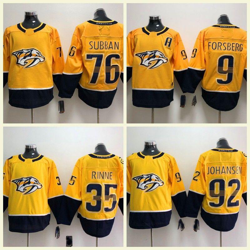 2018 2018 Nashville Predators Ice Hockey Men Women Kids 76 Pk Subban 59  Roman Josi 35 Pekka Rinne 9 Filip Forsberg Jerseys S 3xl From Topsellers09 8506f9dc1