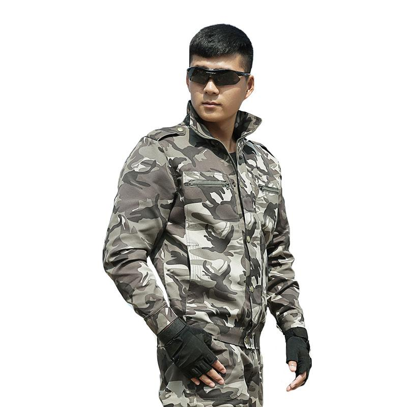 Men's Camouflage Suit Hunting Outfit Clothes Multicam Army Tactical Jackets+pants US Combat Uniforms Ghillie Costume