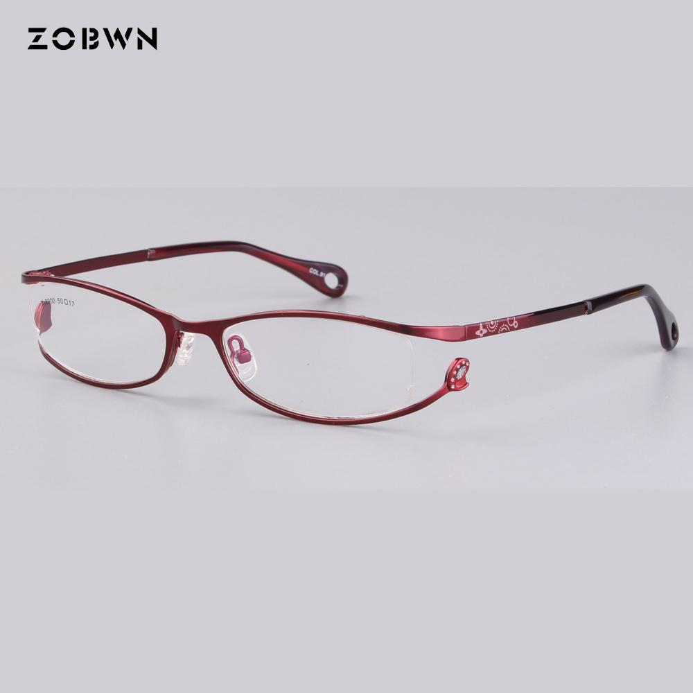 9f3a2d079a8e 2019 Wholesale As Little Quantity Fake Full Frames Ladies Optics Eyeglasses  Women Clear Glasses Frame Red White For Prescription Eye From Junemay