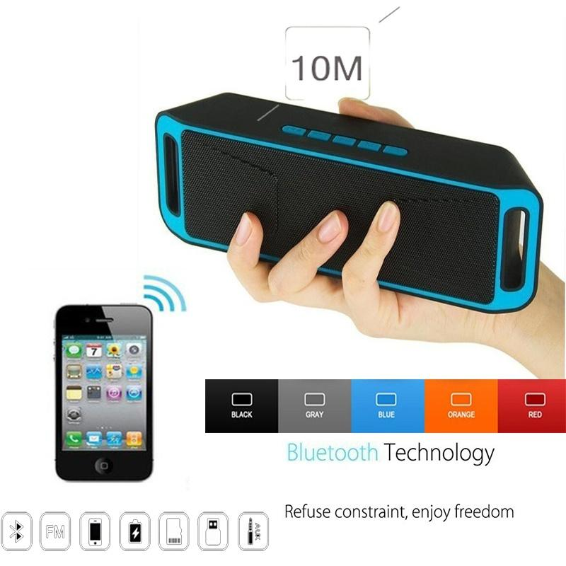 Wireless Bluetooth 3.0 Speaker USB Flash FM Radio Stereo Super Bass MP3 Player N