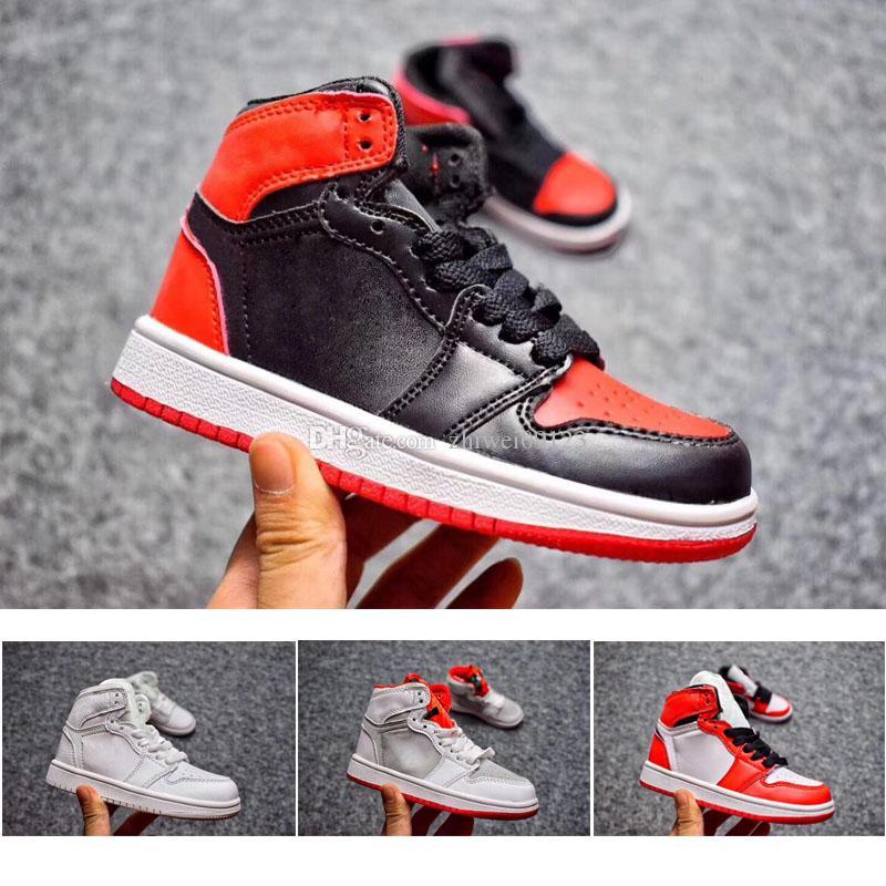 buy online 7231d 38752 Acheter Nike Air Jordan 1 3 12 Retro Chaussures Enfants 1 Pas Cher Magasin  Top Qualité Enfants Chaussures De Basket Prix De Gros Livraison Gratuite  Ventes ...