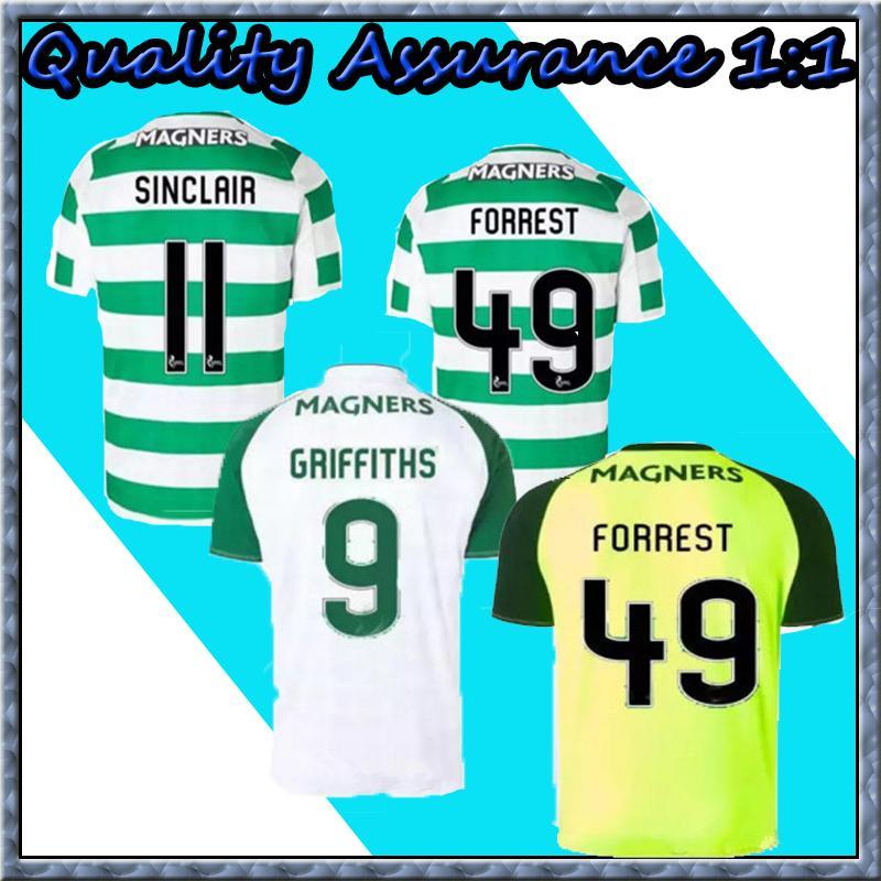 440706699 New 18 19 Home Soccer Jersey Away Short Sleeve Soccer Jersey Celtic ...