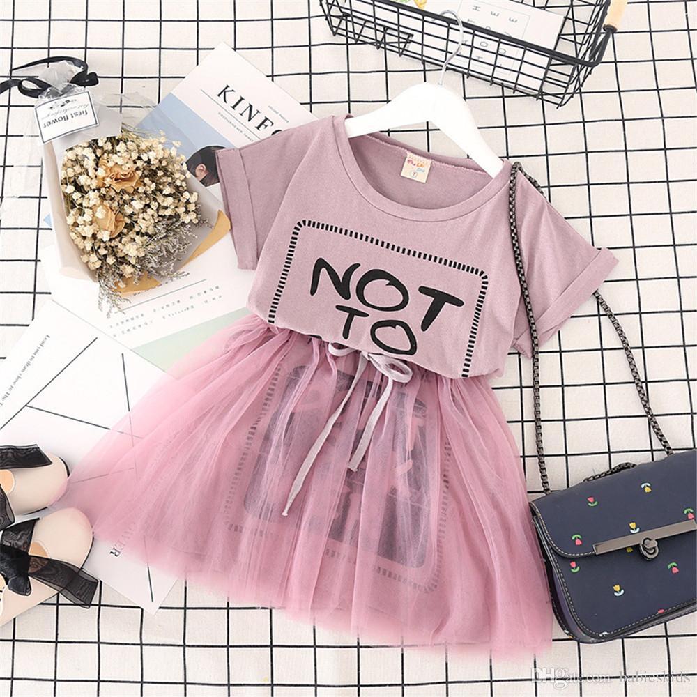 a340d71e6 2019 New Born Baby Girl Summer Tutu Dress Princess Party Skirt For ...