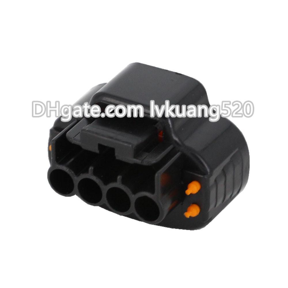 5 juegos DJ7041A-2.2-21 Distribuidor Manivela 4 pines Hembra Conector de automóvil Conector automotriz TPS Sensor de refuerzo Oval Conector de bobina de encendido