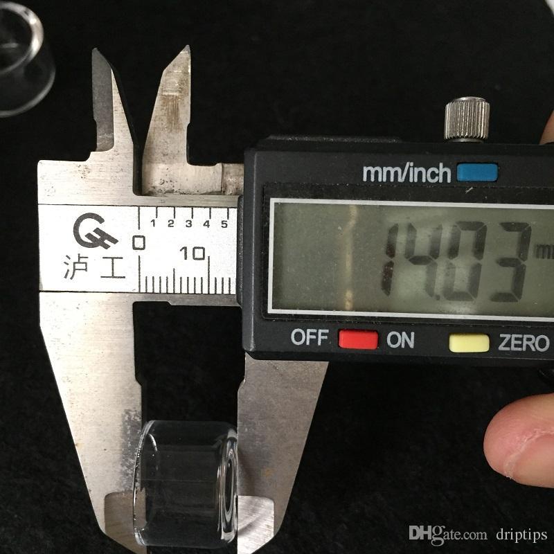 L XL XXL 두꺼운 Domeless 폭행 네일 높이 14mm에 대한 교체 석영 삽입 팻 볼 10mm의 15mm 18mm의 20mm에서 25mm 드롭 버킷