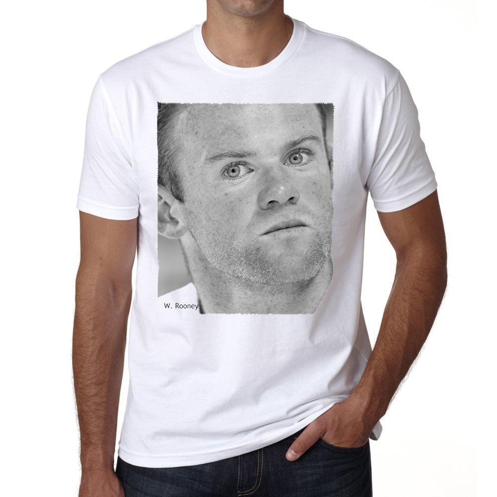 58cc13677 Wayne Rooney Tshirt Mens T Shirt Short Sleeve T Shirt O Neck Hipster Tshirts  Hot Sell 2018 Fashion Funny Tees Men Short Silly T Shirts Interesting T  Shirts ...