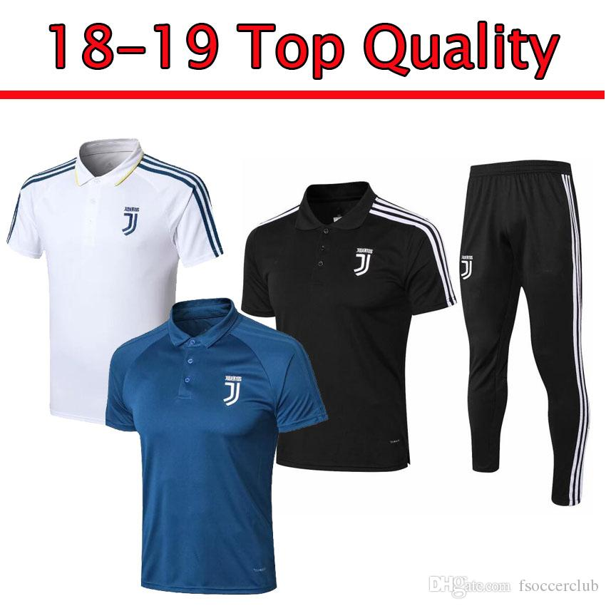 7d430d8ea Summer 2018 2019 Juventus Short Sleeve 3 4 Pants Soccer Training ...