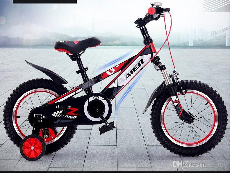 Bicicletta Per Bambini 12141618 Pollici Ammortizzazione Bambini E Bambine Bicicletta Da Bambino 3 6 Anni