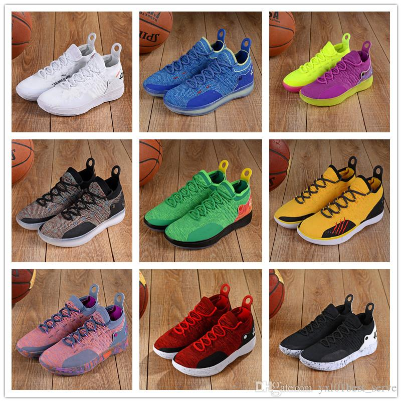 71850324c53 New What the KD 11 Multicolor BHM Kevin Durant XI KD11 Zapatos ...