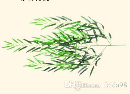 محاكاة شجرة الصفصاف تشفير محاكاة اللون الطباعة الصفصاف فرع النبات محاكاة شجرة بانيان ليف شجرة وهمية L093