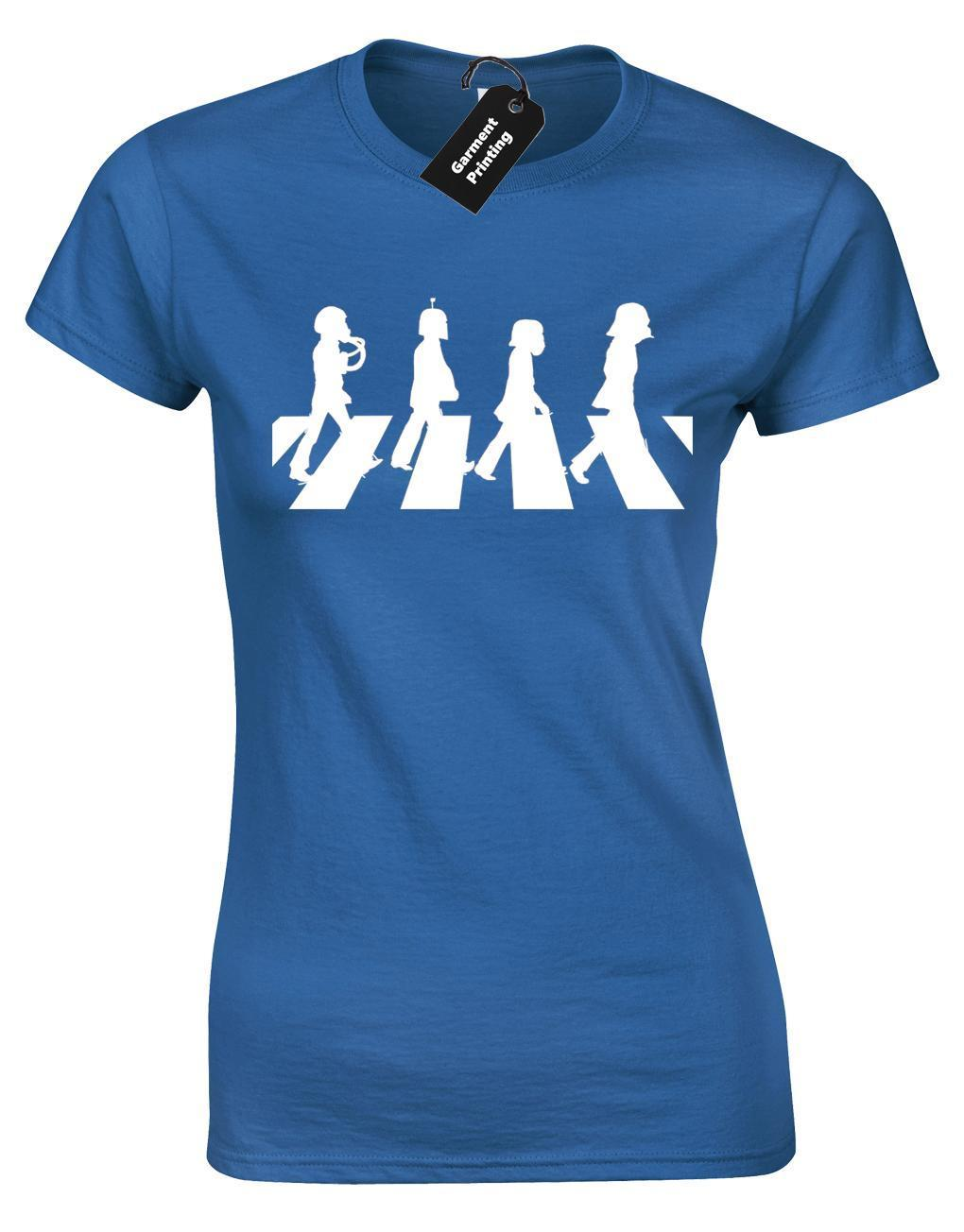 f0d90733 STAR TROOPER CROSSING LADIES T SHIRT STORM WARS FUNNY ABBEY RD YODA JEDI  DARTH Funny Cool Shirts Be Awesome T Shirt From Lefan08, $14.67| DHgate.Com