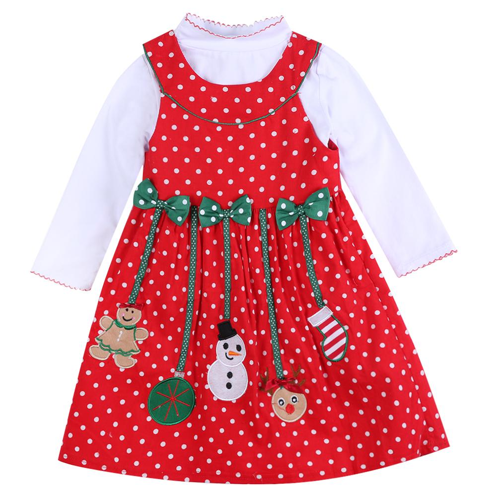 75f8ae7543c Großhandel 2018 Canis Kleinkind Kinder Baby Mädchen T Shirt Dress  Prinzessin Partei Pageant Hochzeit Tutu Kleider Weihnachten Herbst Kleidung  Von ...