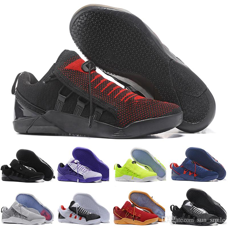 promo code 6b66d bd80f Großhandel Nike Kobe Ad Nxt 12 Basketball Shoes Hohe Qualität Kobe 11 Elite  Männer Basketball Schuhe Kobe 11 Red Horse Oreo Turnschuhe Kb 11 Sport ...