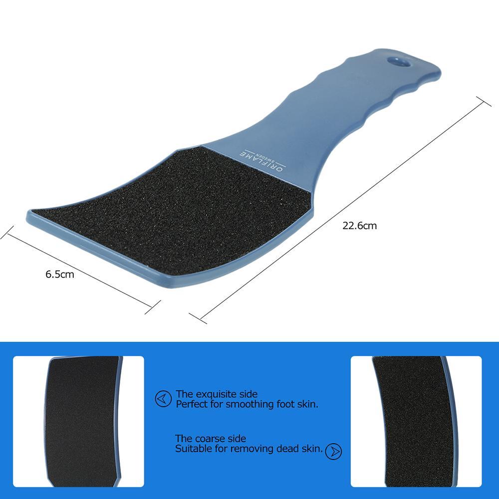 Foot Care Pedicure Tool Large Sandpaper Foot Rasp Professional DoubleSide Callous Remover Hard Skin Grinding Foot File Heel File free shippi
