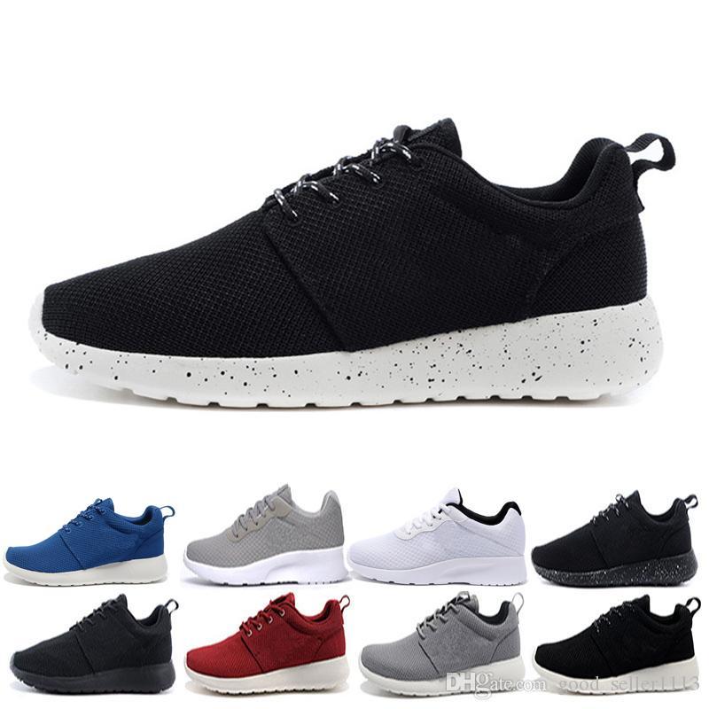 36de39c6256 London 1.0 3.0 Olympic Running Shoes For Men Women Black White Blue ...