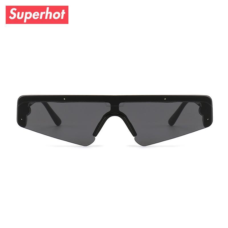 3cefa0c43b Superhot Eyewear 2018 Future Look One Piece Lens Sun Glasses Small ...