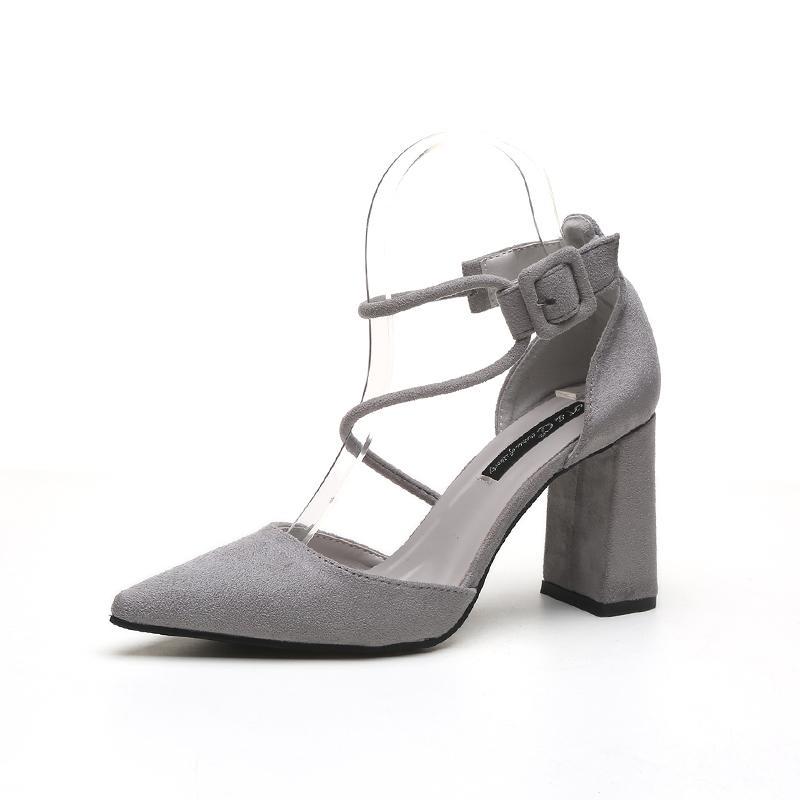 Fashion 2018 Women Pumps Party Pointed Toe High Heels Shoes Ladies ... 79b13d8d6c24