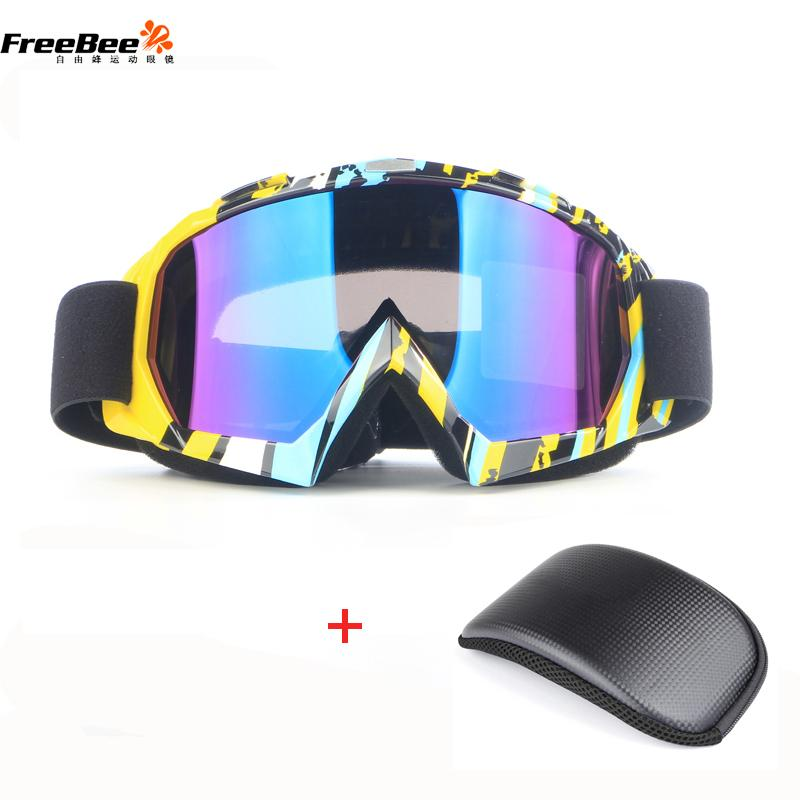 1a106cfd1cc0 Ski Goggles Double Lens Ski Big Mask Glasses Unisex Adults Anti-Fog ...