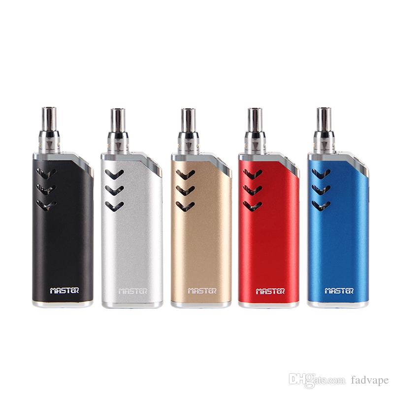 Original Master vape pen starter kit Thick oil vapor cartridges ceramic  core Vaporizer with 650mAh 510 Thread Battery