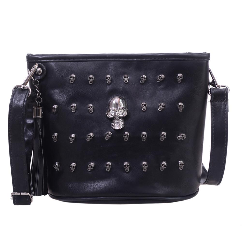 d074426e26f 2019 Fashion Skull Design Women Messenger Bags Handbags Shoulder Bags  Satchel Clutch Girl Black Skull Crossbody Bag Bolsas Borse Feminina Cheap  Bags Cheap ...