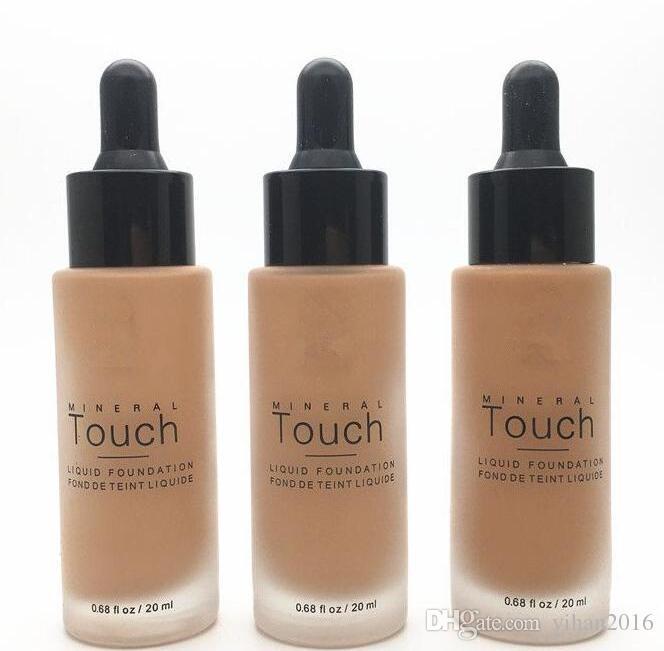 مؤسسة Younique السائل 10 الألوان مرطب الوجه جعل الأساسية حتى الرطوبة دائم مؤسسة مسحوق دقيق 20 مل