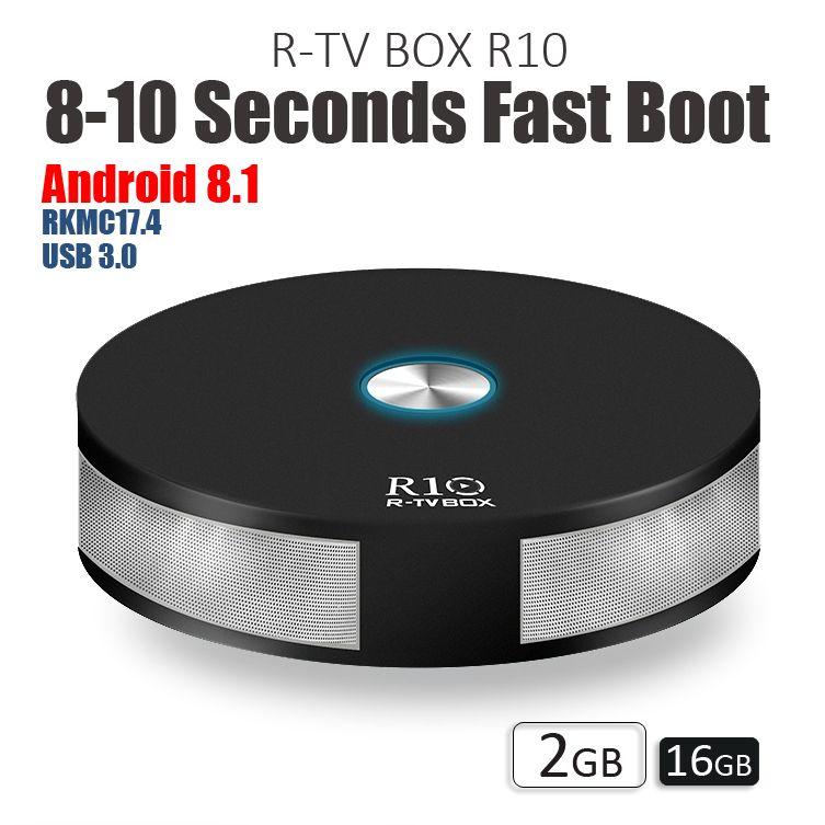 Acquista Nuovo R10 R Tv Box Rk3328 Smart Tv Box Android 8 1 2 Gb 16