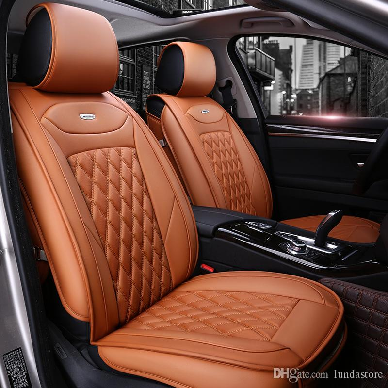 Luxury PU Leather Car Seat Covers For Honda CRV XRV Odyssey City Crosstour CRIDER VEZEL Accord Accessories Sale